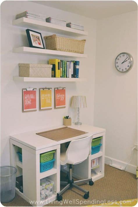 Small Desk Ideas Diy by Easy Diy Home Office Ideas Wellness Tips
