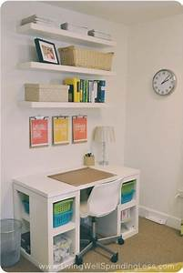 Easy diy home office ideas women wellnessbeauty tips for Diy office desk ideas for your home office