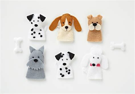 pinterest projects puppy finger puppets  images