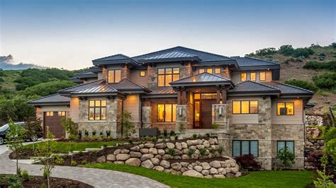 luxurious home plans luxury house plans architectural designs