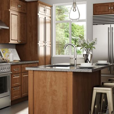 cognac color kitchen cabinets kitchen cabinets color gallery at the home depot