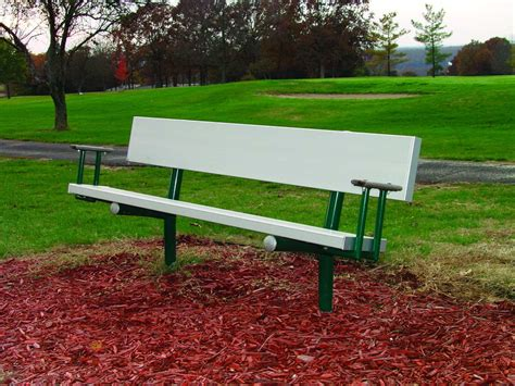 park benches for aluminum park bench pro playgrounds the play
