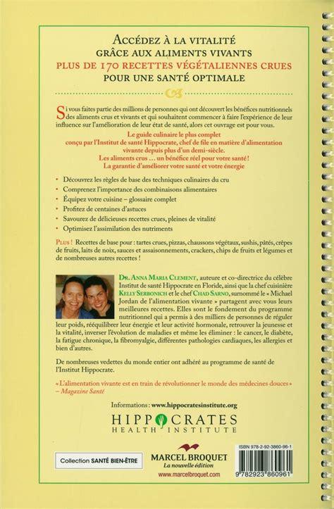 cuisine vivante pour une santé optimale livre cuisine vivante pour une santé optimale