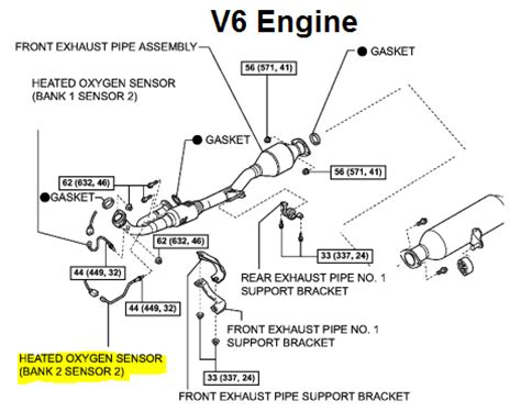 Oxygen Sensor Heater Circuit Bank 1 Sensor 2 - Facias