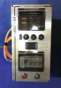 Silver Digital Sargent Ec160 Power Supply Unit