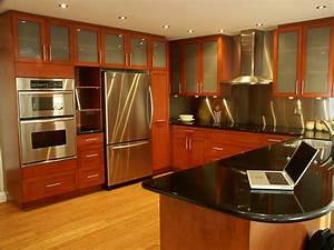 Inspiring Home Design Stainless Kitchen Interior Designs