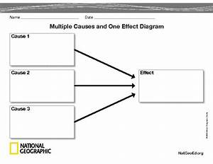 Multiple Causes And One Effect Diagram