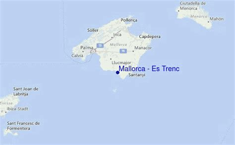 mallorca es trenc surf forecast  surf reports