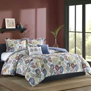 studio a taylor medallion paisley comforter set