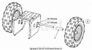 Mtd 31ce660f129  2004  Parts Diagram For Wheel Assembly