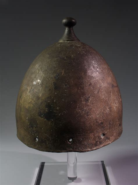 alexander ancient art  european bronze age bell helmet