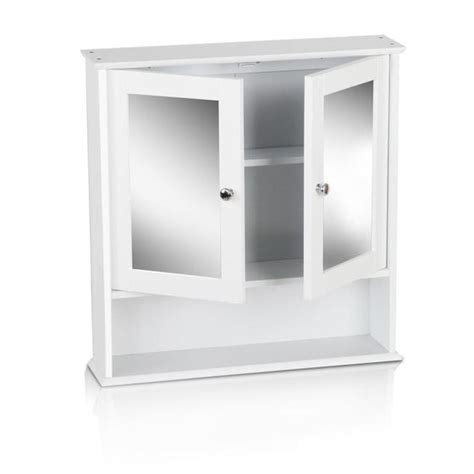 White Bathroom Cabinet With Mirror by Buy Bathroom Tallboy Storage Cabinet With Mirror White