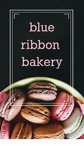 Cakes, And, More, Bakery, Business, Card