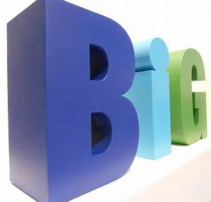 giant foam letters spelling the word big bar mitzvah With big letters for events