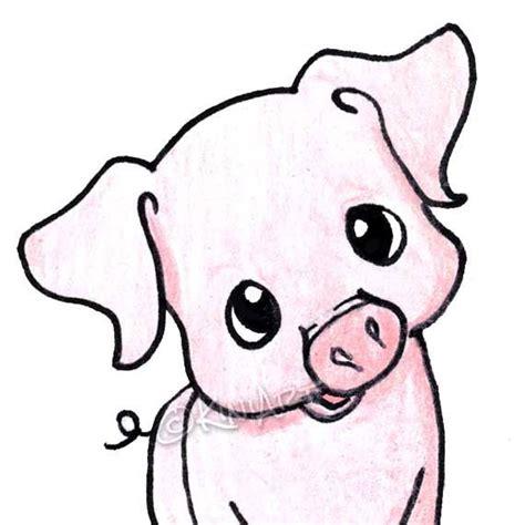 pig drawing ideas  pinterest pig sketch pig