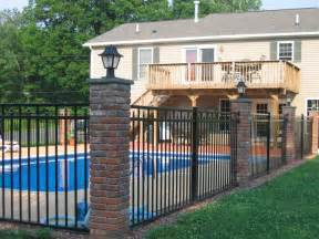 Brick Fence Pillar Fence The Dramatic Fence Designs For Your Front Yard