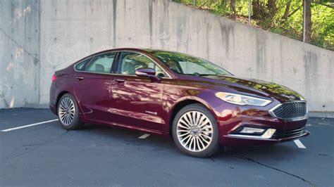 ford fusion hybrid platinum review autonation youtube