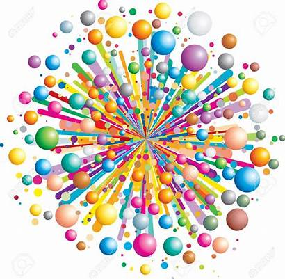Explosion Vector Explode Colorful Funny Clipart Cartoon