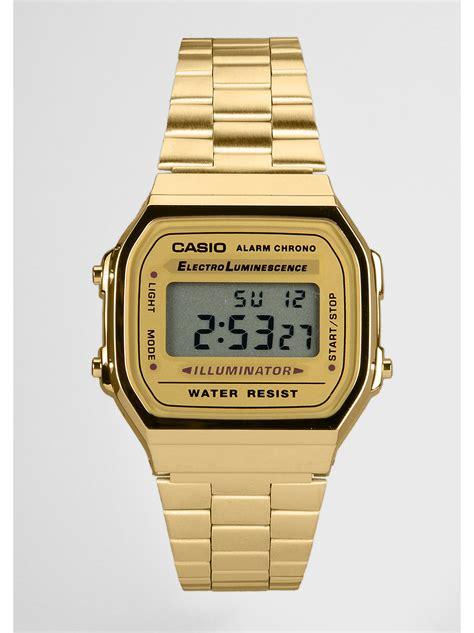 Casio Uhr Gold Herren 2423 by Casio Collection A168wg 9ef Preisvergleich Herren