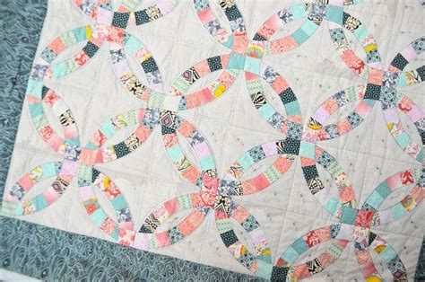 1000+ Images About Double Wedding Ring Quilt On Pinterest