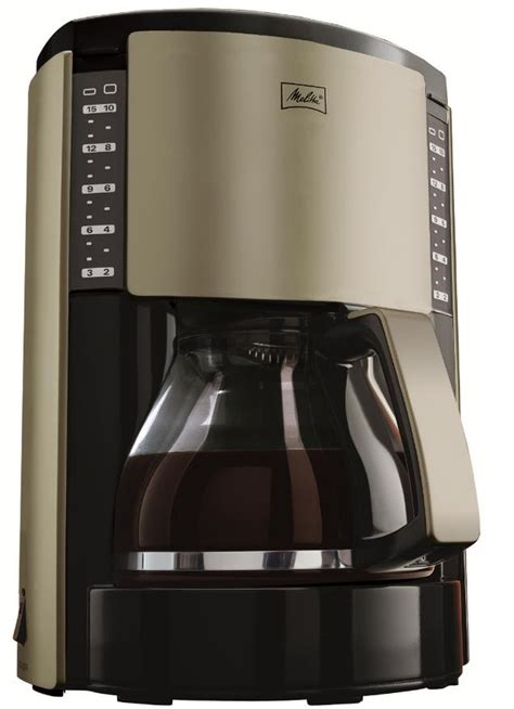 melitta look selection melitta look selection 3 noir chagne 10 15 tasses m65121221 achat cafetiere grosbill