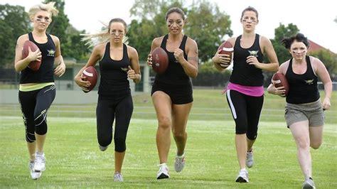 Ladies Football League Australias Season Opener Between
