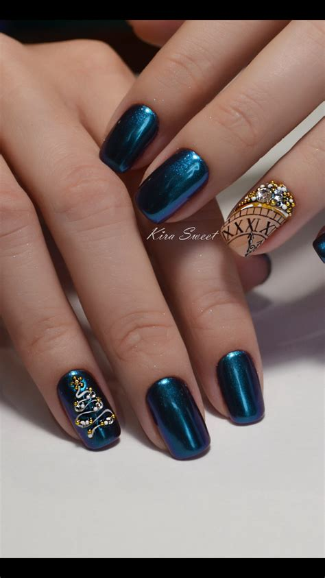 Christmas nails with festive design you want to try that is super fun. Pin by Amanda Allen on Nail design in 2020   Christmas nails, Holiday nails, Glitter gel nails