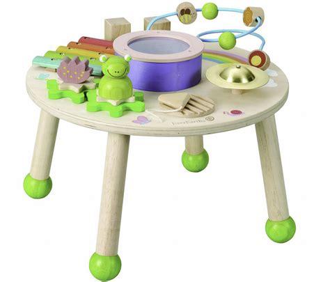 table d activité avec siege table d 39 éveil à poser table d 39 activités avec pieds