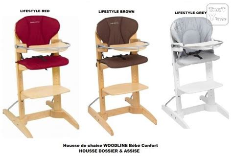 housse de chaise haute bebe housse de chaise haute woodline bebe confort