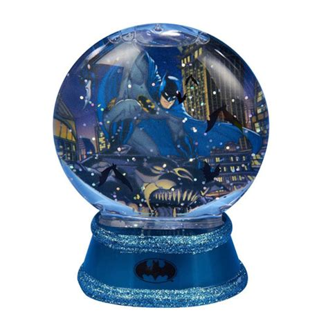 batman gotham light up 3 1 2 inch snow globe kurt s