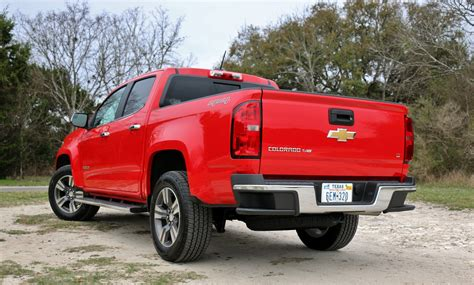 2017 Chevrolet Colorado Lt 4x4 Test Drive Review