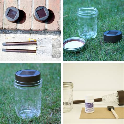 jar solar lights for tinkerlab