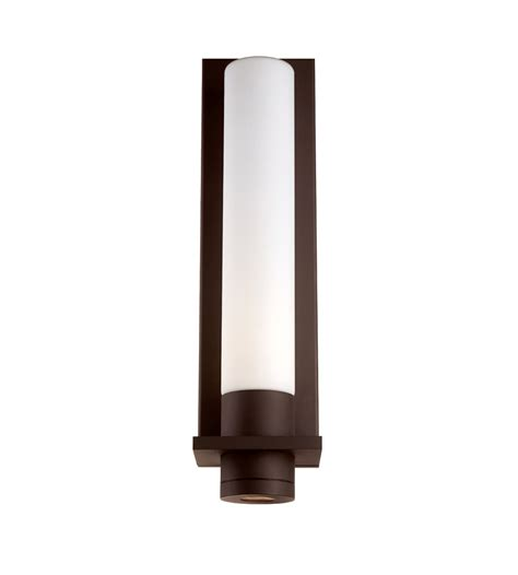 modern forms exterior lighting modern forms ws 2818 bz jedi led outdoor wall light in