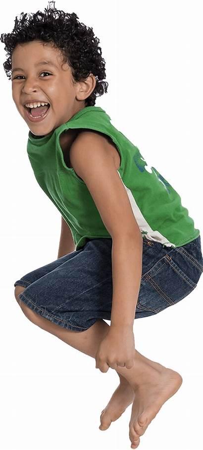 Kid Child Hyper Jump Children Often Boys