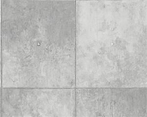 Tapeten Beton Design : tapete beton platte stein grau as creation 30179 1 ~ Sanjose-hotels-ca.com Haus und Dekorationen