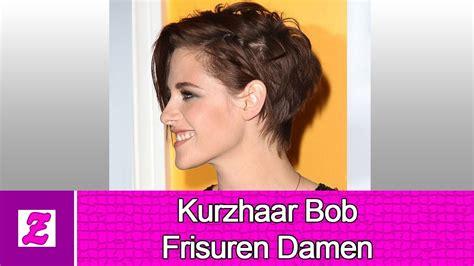 12 beste kurzhaar bob frisuren damen