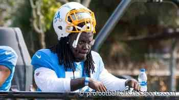 Edge defender melvin ingram is in for a free agent visit monday, an nfl source tells the miami herald. Grimes was limited at practice today & additional injury updates. cards.twitter.com/cards/btiww ...