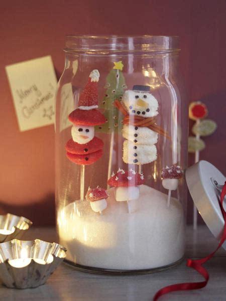 suesse weihnachtsdeko im glas