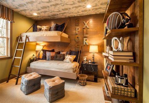chambre rustique decoration chambre rustique adulte