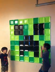 minecraft wall decoration home decor pinterest