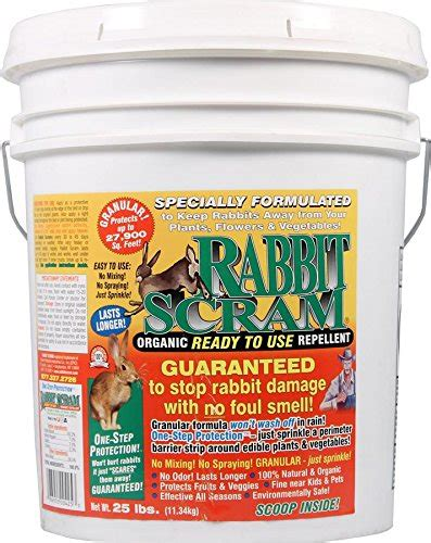 the 5 best rabbit repellent products