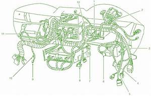2001 Ford Mustang Gt Inside The Dash Fuse Box Diagram