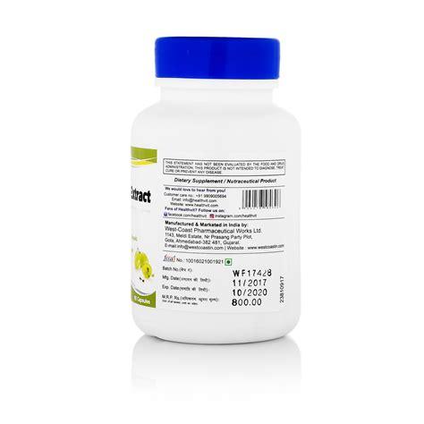 Healthvit Grapeseed 50mg Immunity Booster 60 Capsules