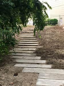 Dalle De Cheminement : cheminement en gradines dalles b ton bordeaux grand parc seve s bastien espaces verts ~ Melissatoandfro.com Idées de Décoration