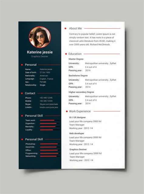 21844 awesome resume templates free create free creative resume templates microsoft word for