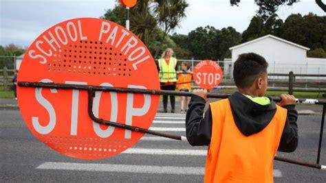 children man major highway pedestrian crossings