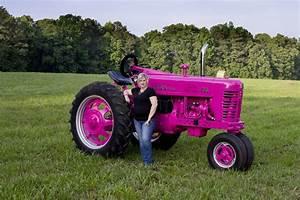 1956 Farmall 400 - Think Pink