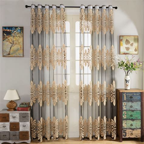 curtains living room bedroom customize ready voile