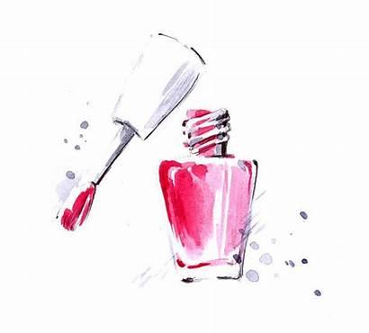 Nail Polish Vector Clip Illustrations Illustration Nails
