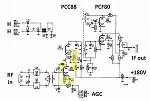 Transistors Uhf Tuner Circuit Basiccircuit Circuit Diagram